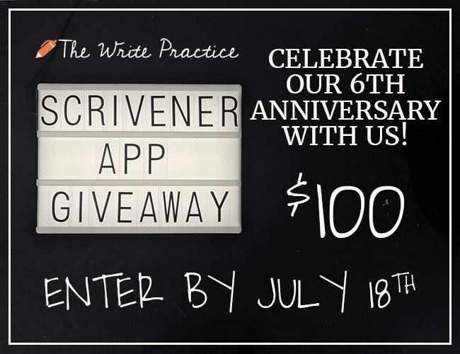Celebrating Our 6th Anniversary With a Scrivener App Giveaway