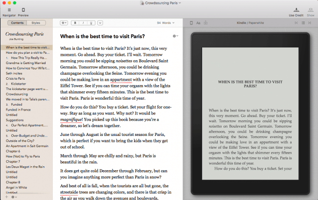 Vellum: Top Book Writing Software