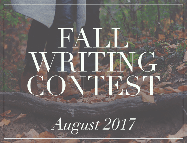 Celebrate Fall With a New Writing Contest