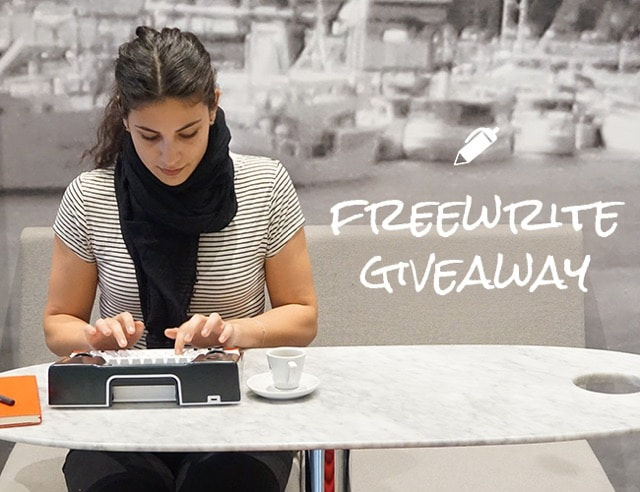 Giveaway: Win Freewrite, the World's First Smart Typewriter!
