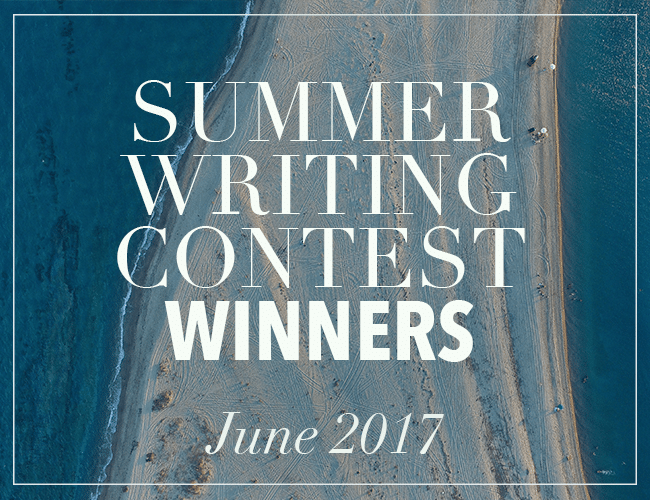 The Winners of the Summer Writing Contest