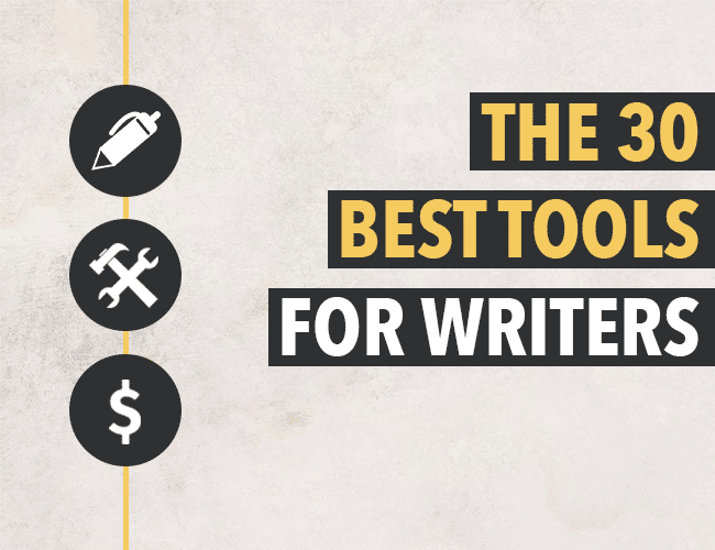 The 30 Best Tools for Writers