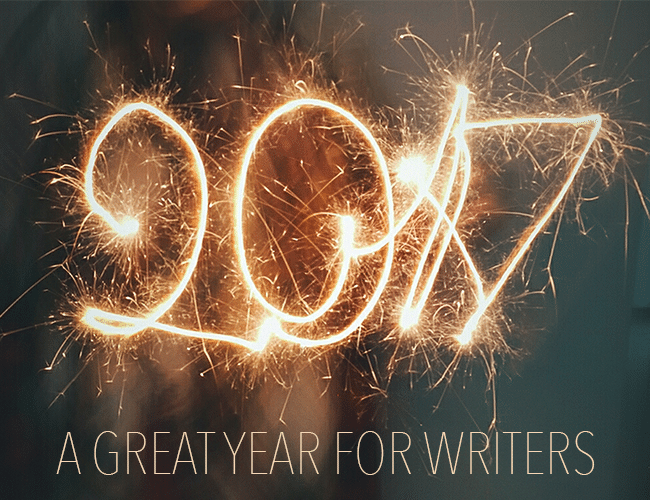 2017 Was a Great Year for Writers!