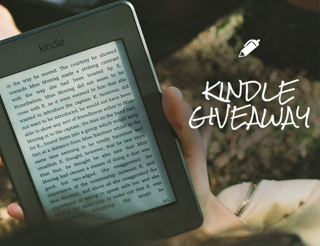 Giveaway: Win a Fully Loaded Kindle Paperwhite!
