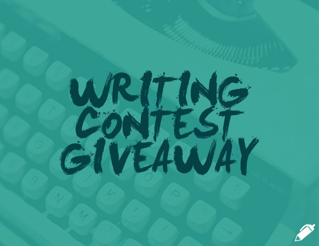 Writing giveaways