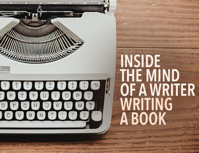 Inside the Mind of a Writer Writing a Book