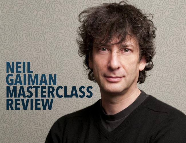 Neil Gaiman Masterclass Review