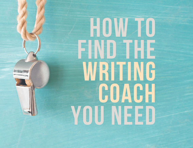How to Find the Writing Coach You Need