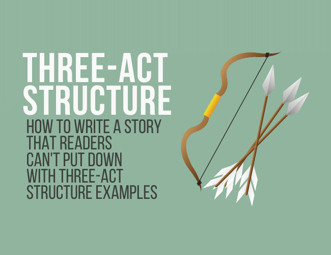 How to Use Three-Act Structure to Write a Story Readers Can't Put Down