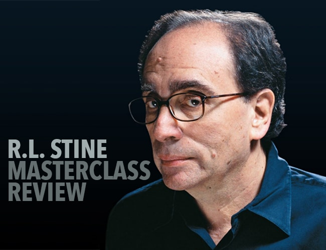 R. L. Stine MasterClass Review: Will This Help You Write Stories Readers Love?
