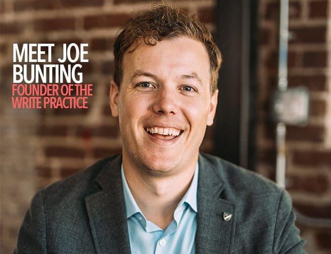 Meet Joe Bunting, Founder of The Write Practice