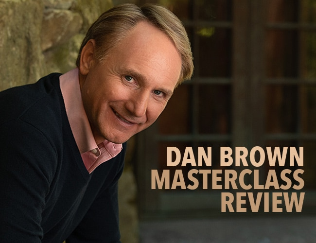 Dan Brown MasterClass Review: Will This Teach You to Write a Page-Turning Thriller?