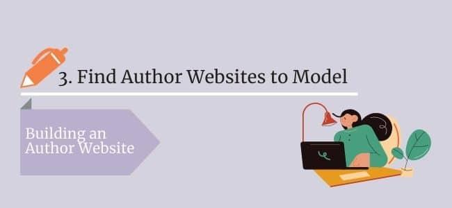 Find Author Websites to model