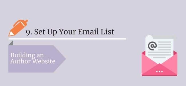 Set Up Your Email List